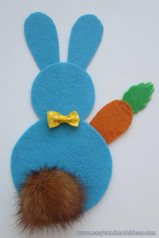 Easter Bunny of Felt