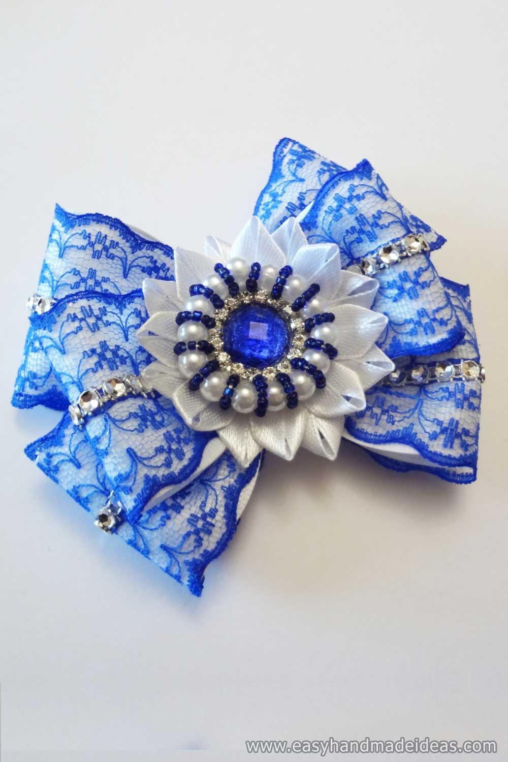 Beautiful Kanzashi Bow
