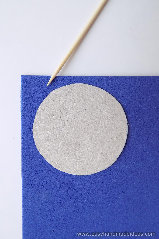 Cardboard Round Blank
