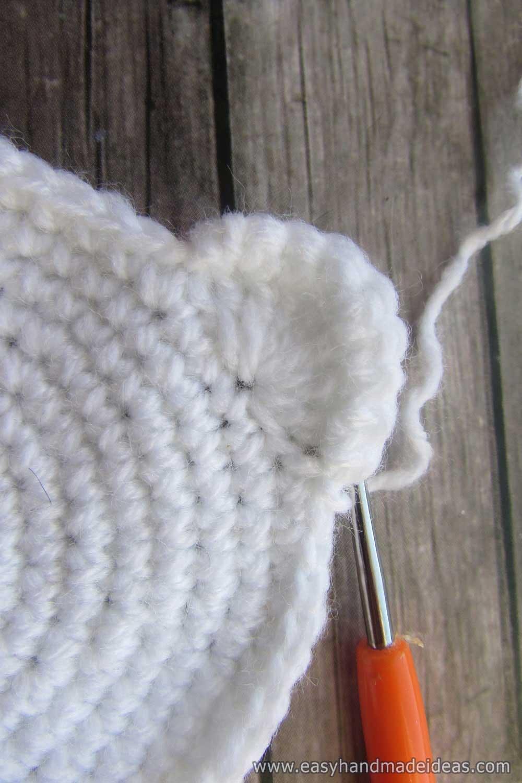 Crochet the Edge of the Ear