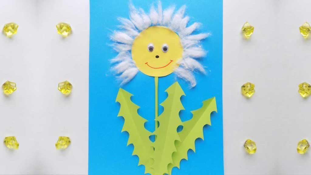 Paper Dandelion