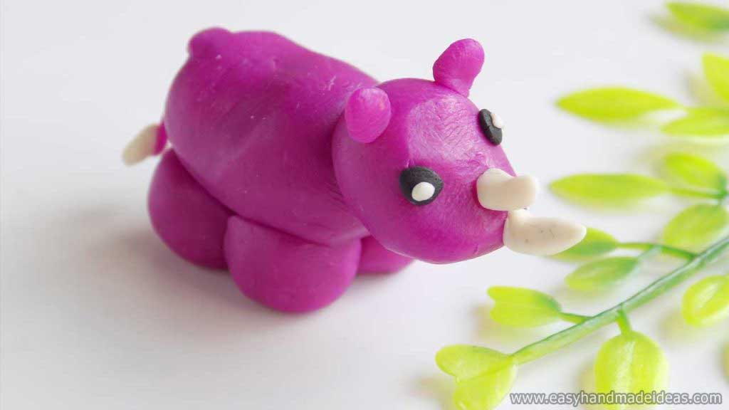 A Rhinos Out of Plasticine