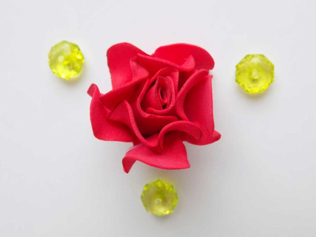 Foamiran Rose