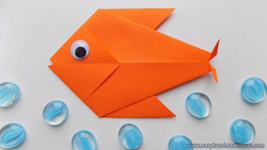 Easy Fish Origami - Red Ted Art - Make crafting with kids easy & fun | 576x1024