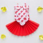 Origami Paper Dress