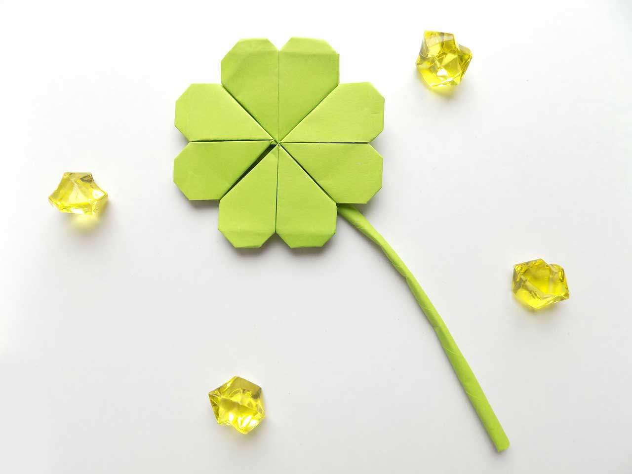 Paper Four Leaf Clover