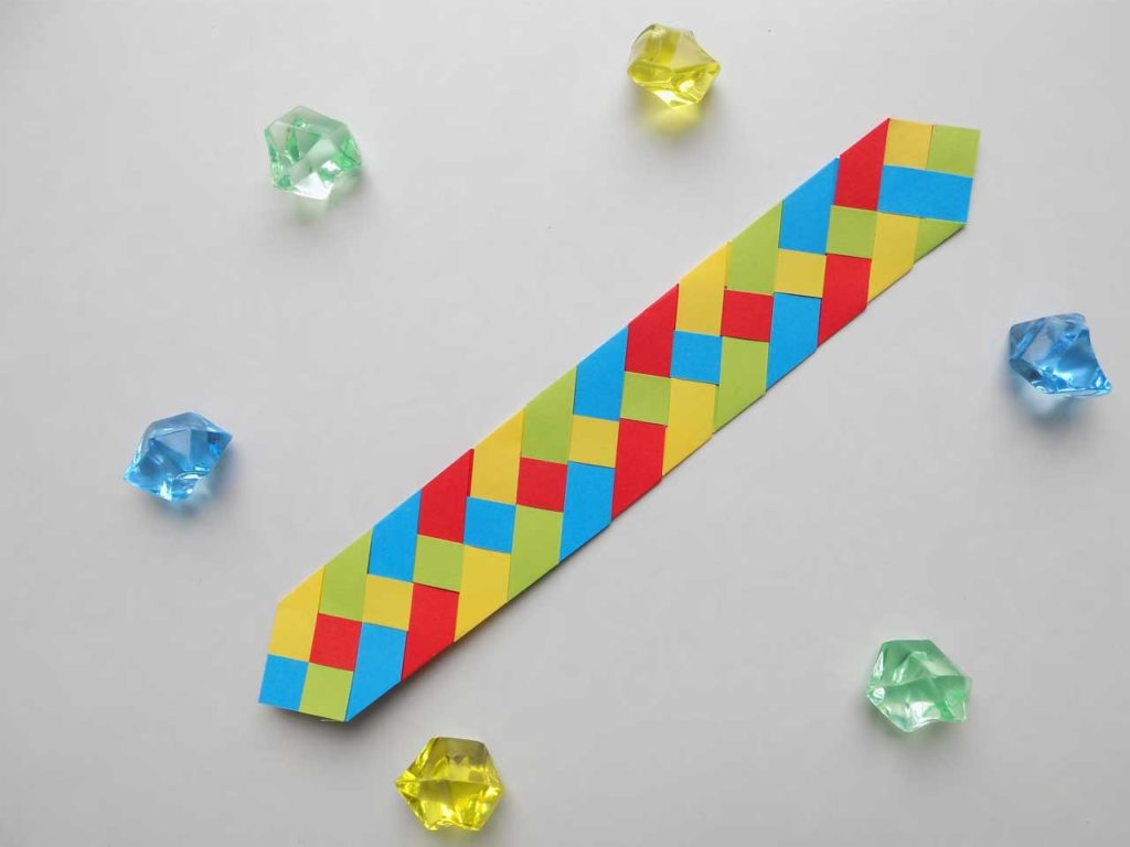 Bright Paper Bookmark