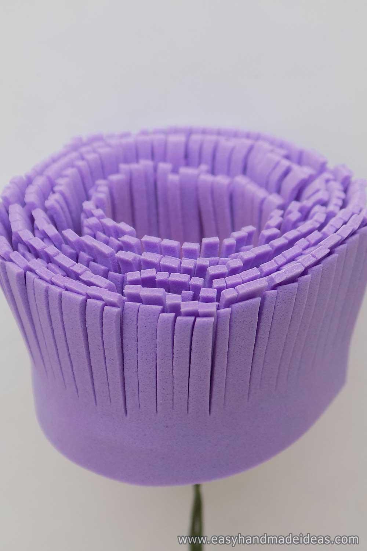 Purple Aster Petals