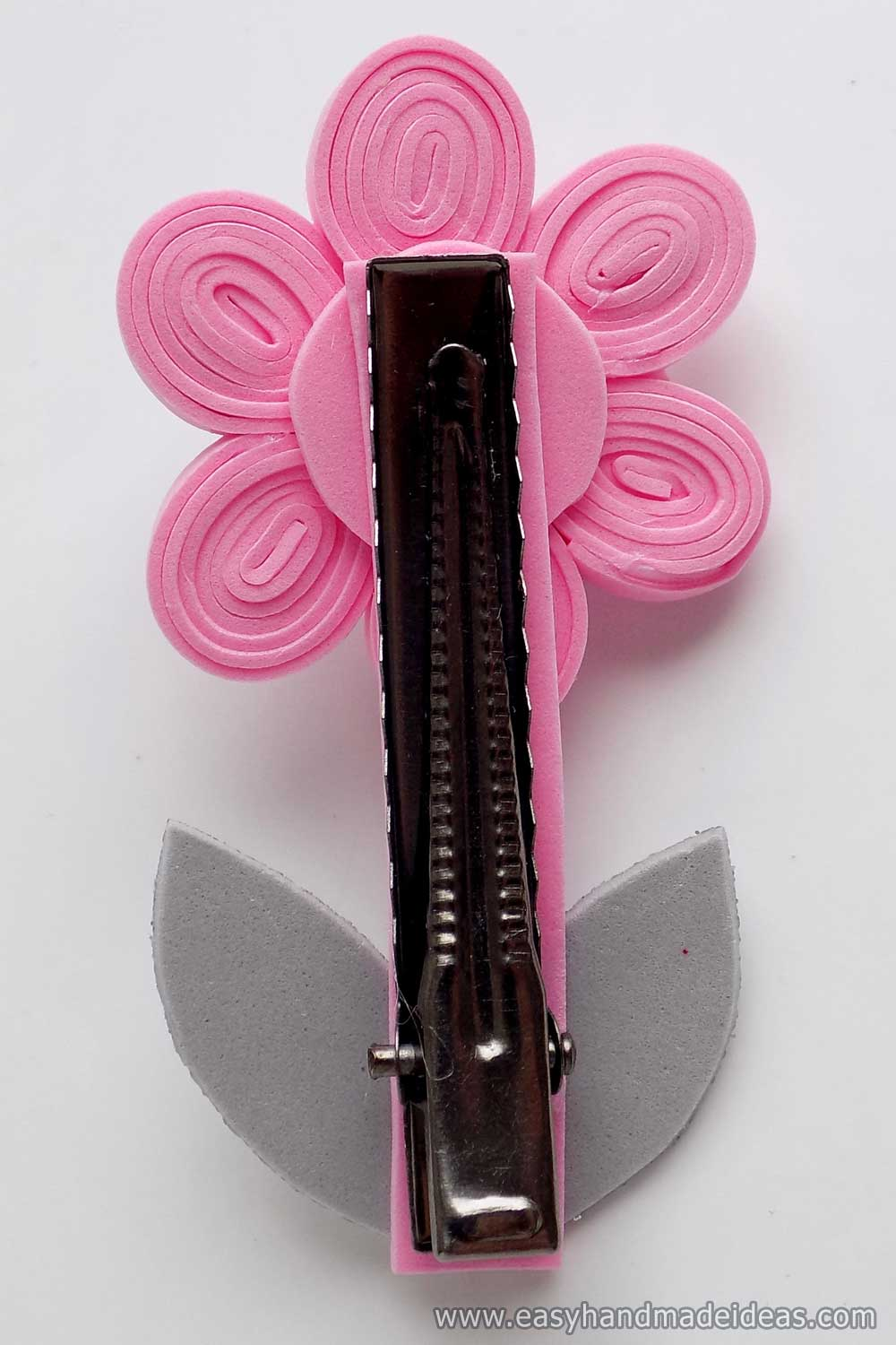 Ready Made Hairpin on the Back Side
