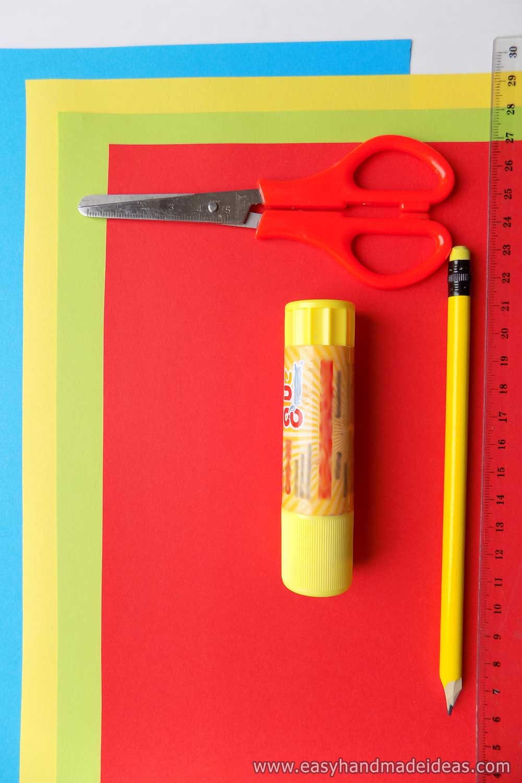 Bookmark Materials and Tools