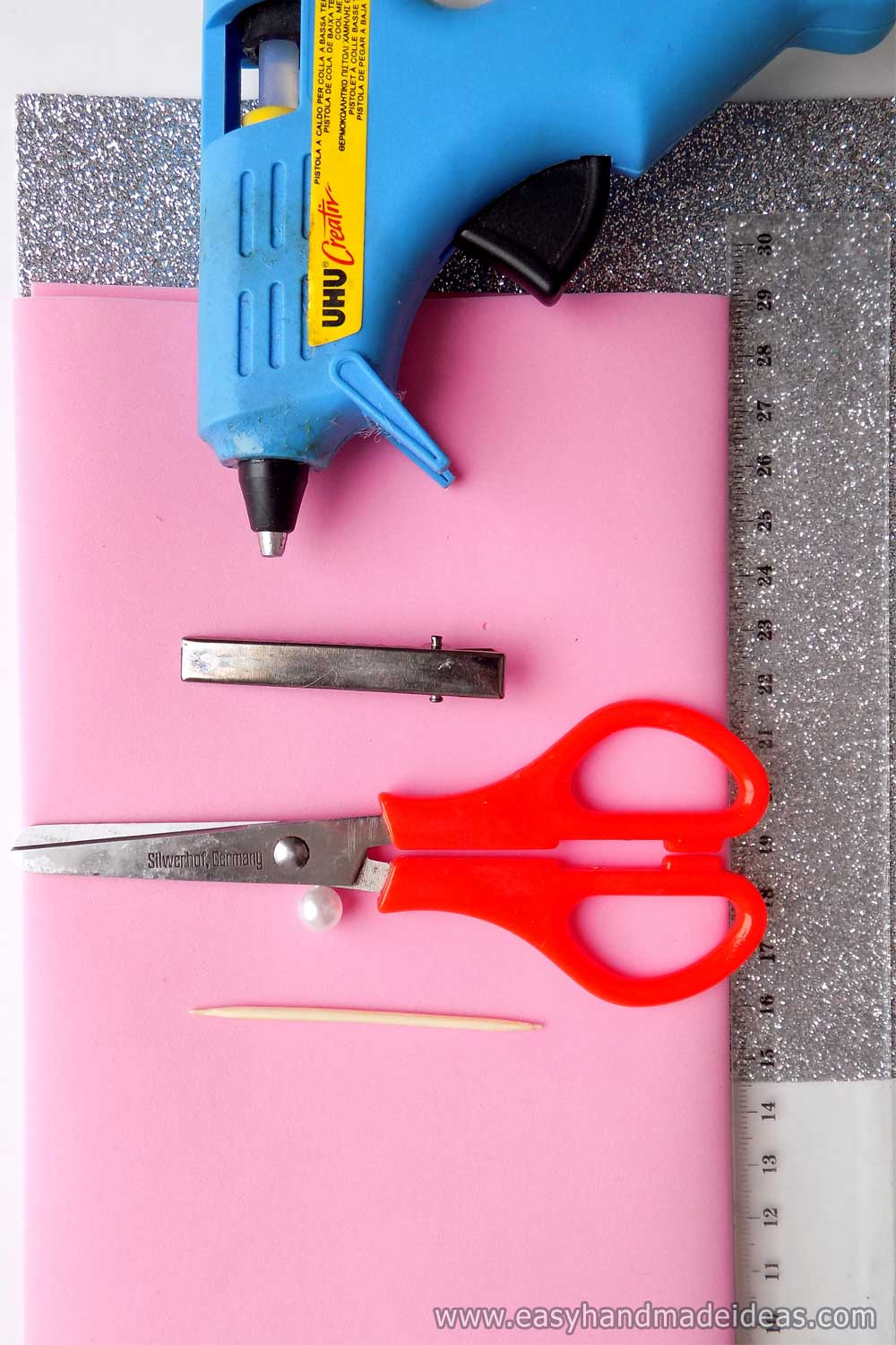 Materials and Tools for Hairpins