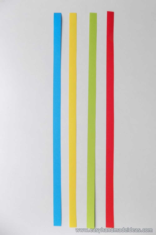 Multi Colored Paper Strips