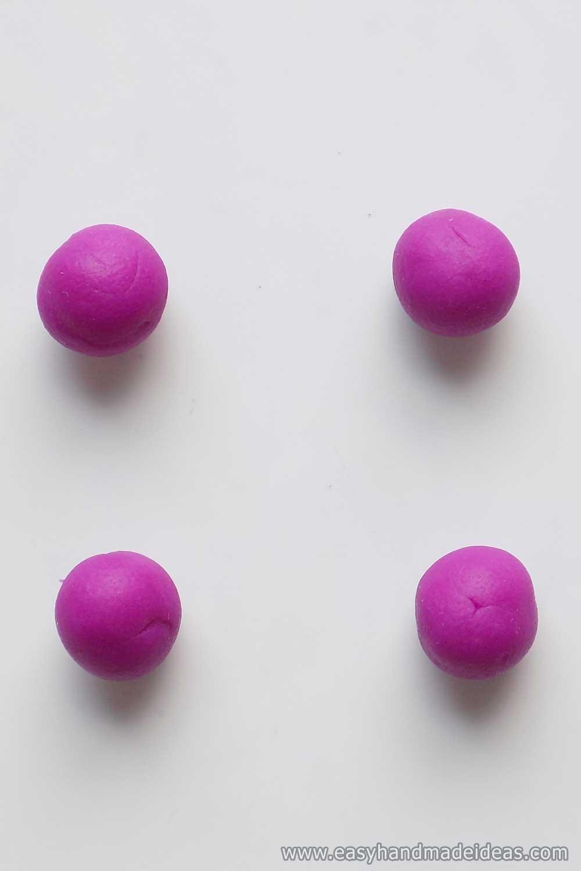 Four Pieces of Plasticine
