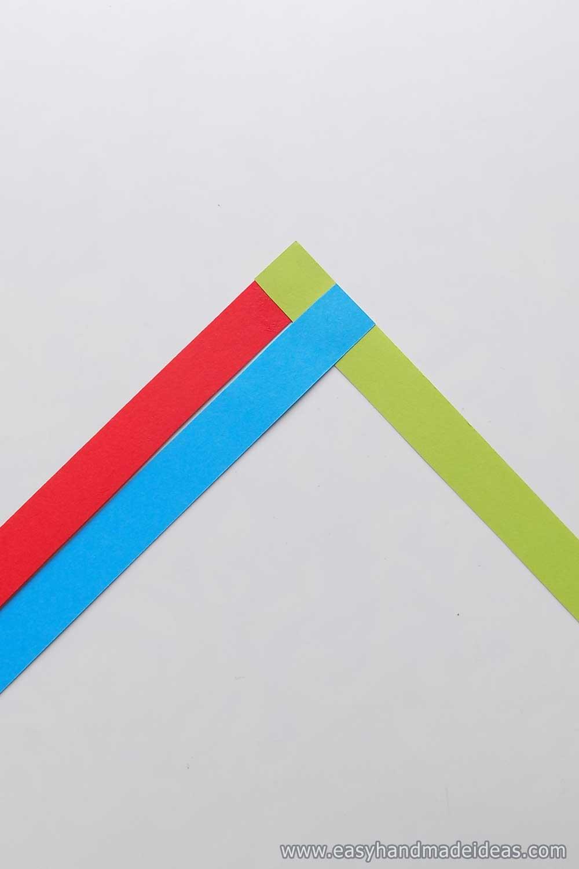 Three Glued Strips