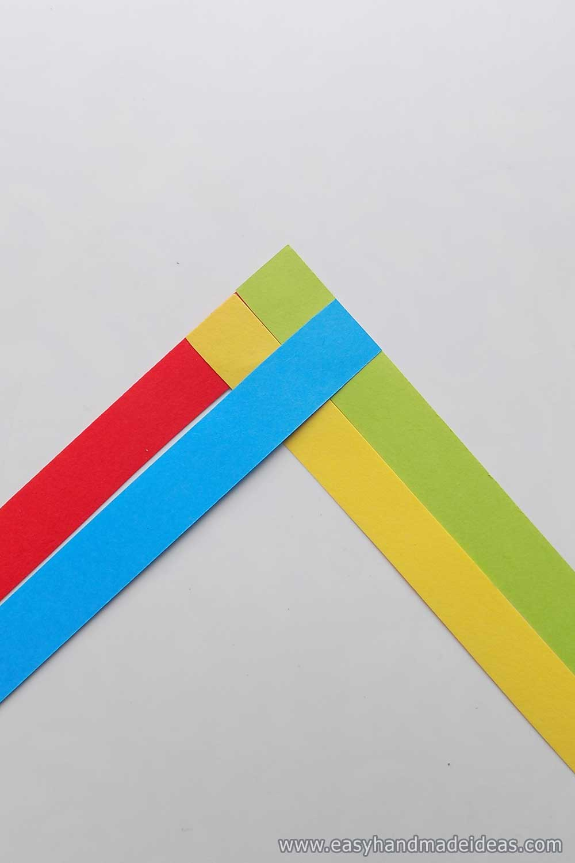 Four Glued Strips