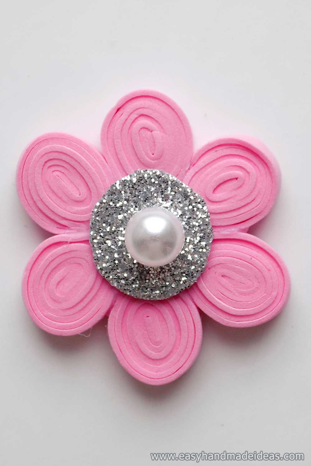 Flower with a Pearl