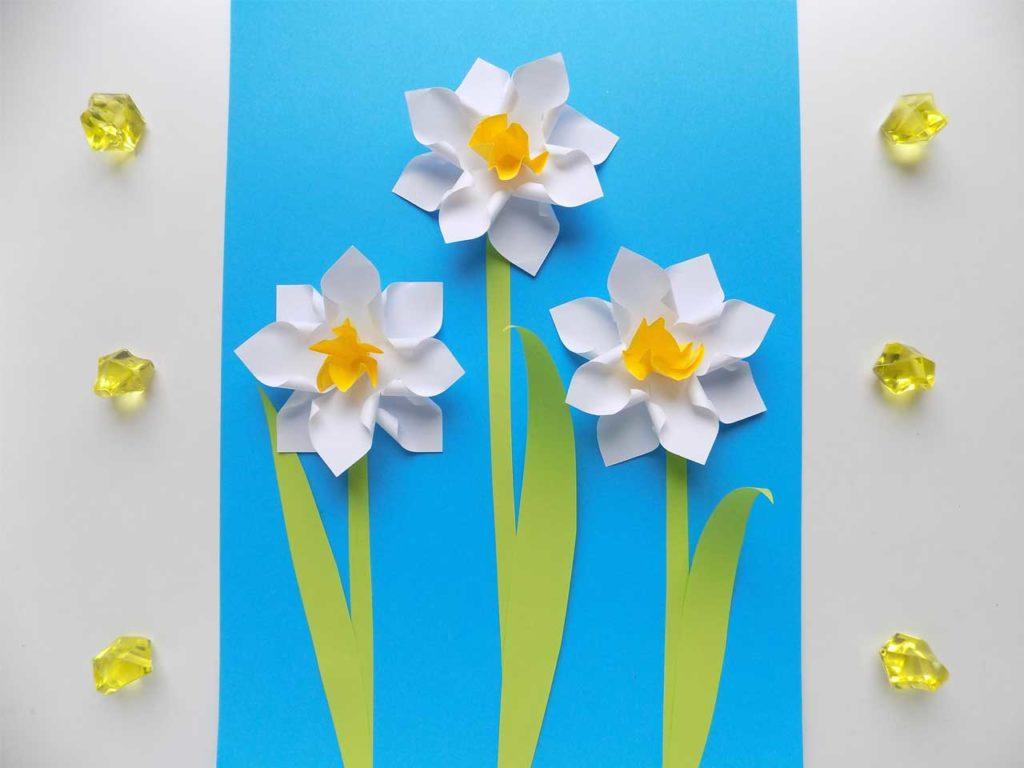 Paper Daffodil Flowers
