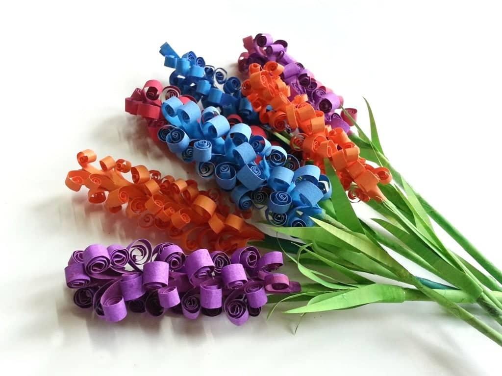 Swirly Paper Flowers