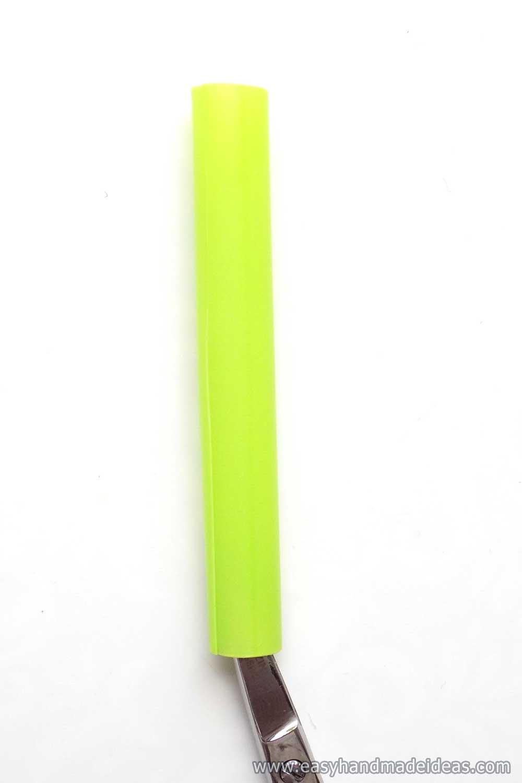 Cut Green Straw