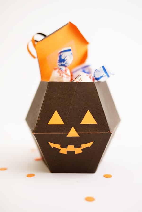 Printable Pumpkin Box