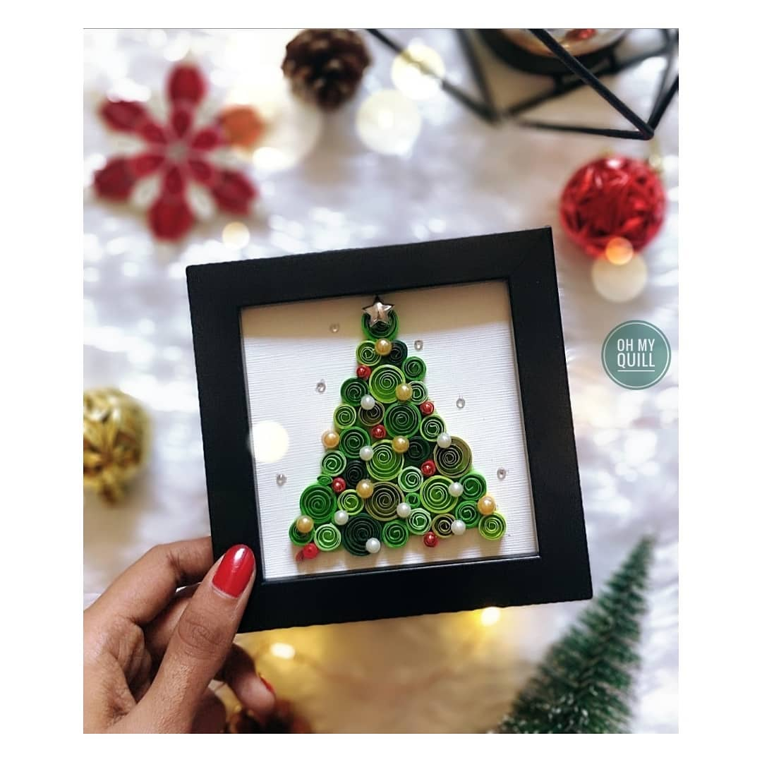 Quilling Christmas Tree Decoration