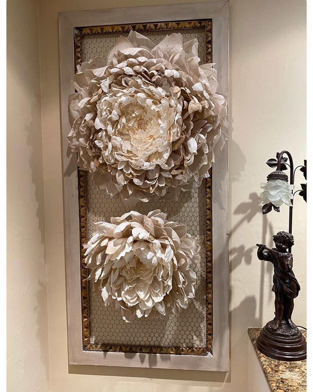Huge Crepe Paper Flowers for Wall