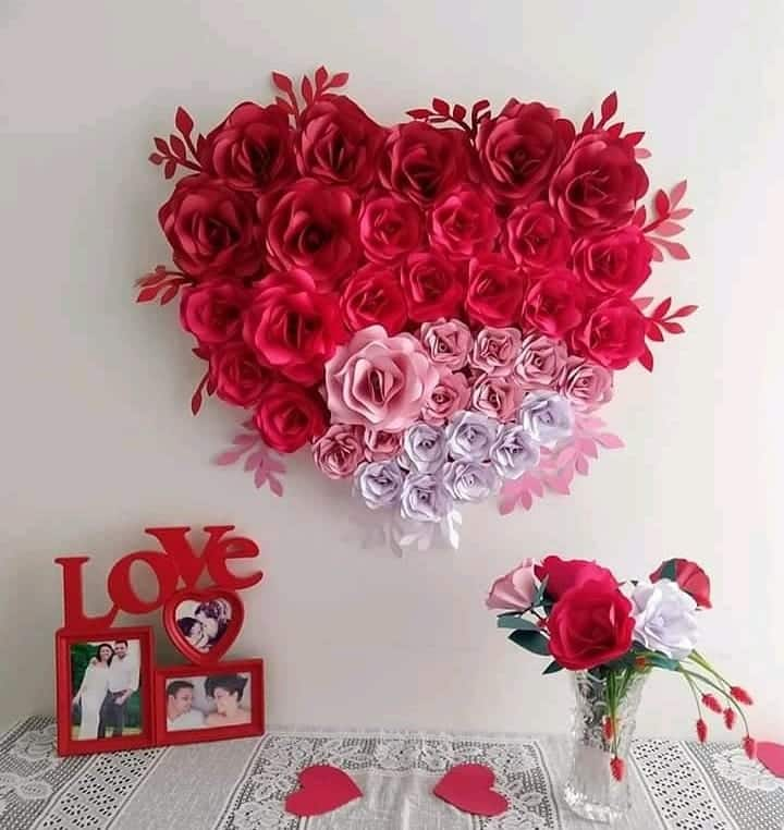 Heart of Paper Roses
