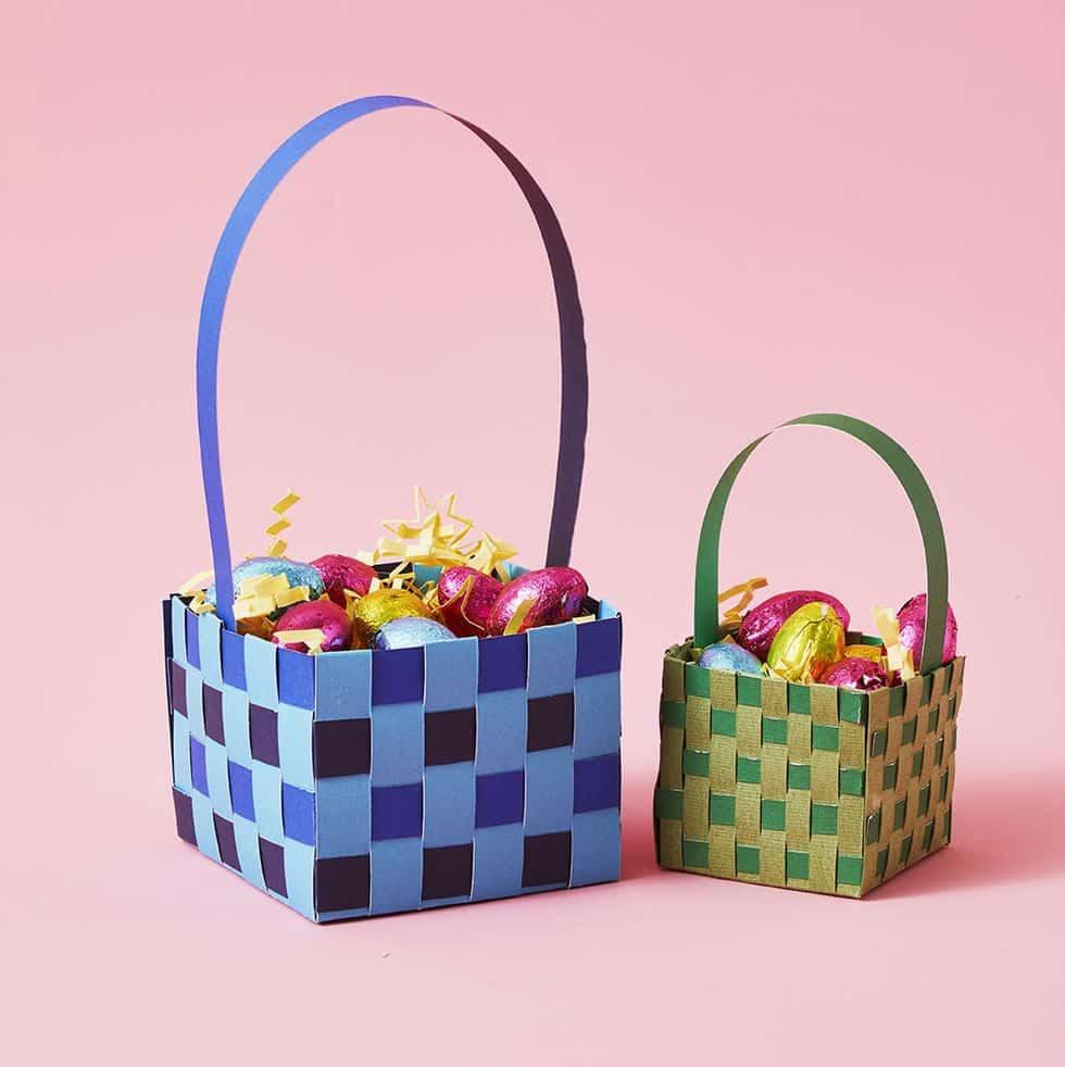 How to Make a DIY Paper Easter Basket